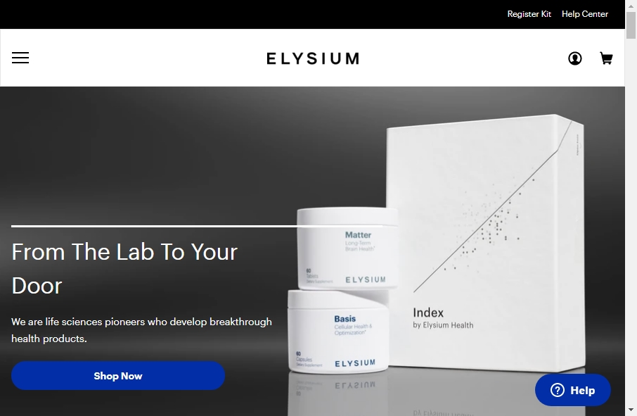 Health Product Websites Examples 29