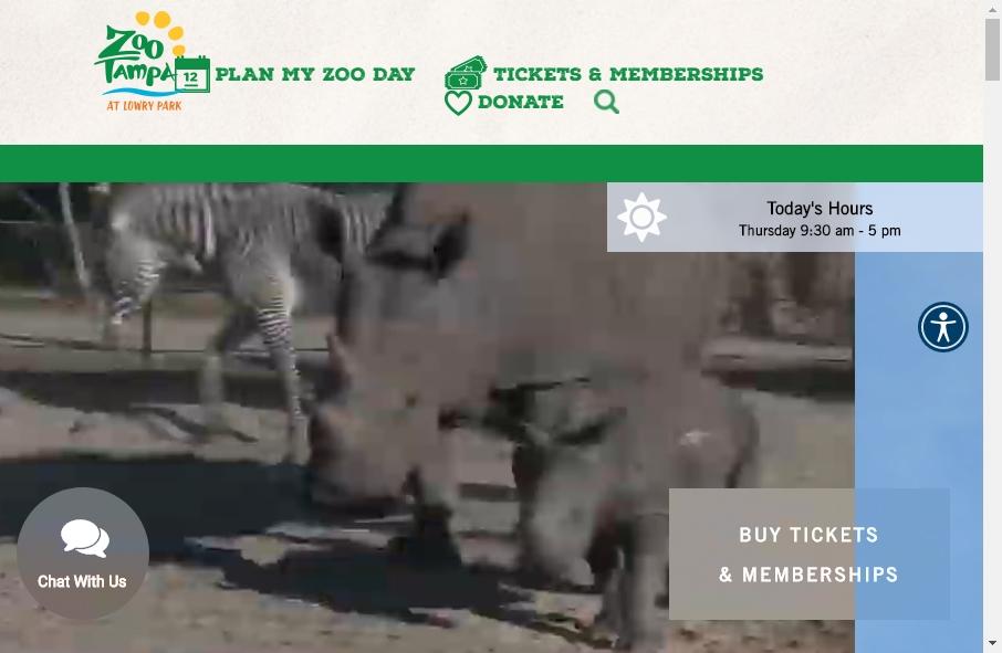 Zoo Websites Design 29