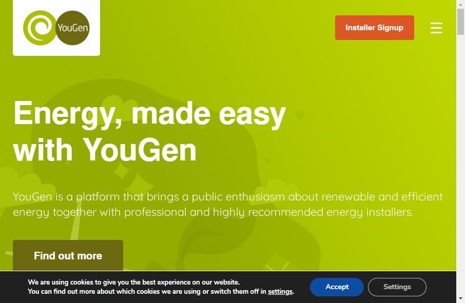 Alternative Energy Website Designs 27