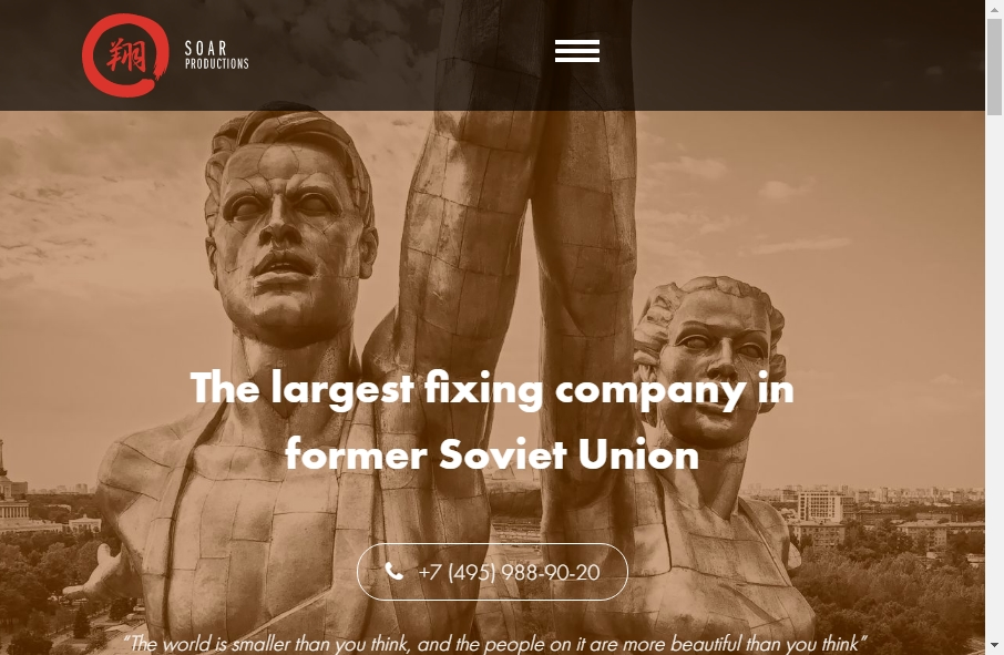 Great TV Production Website Examples 29