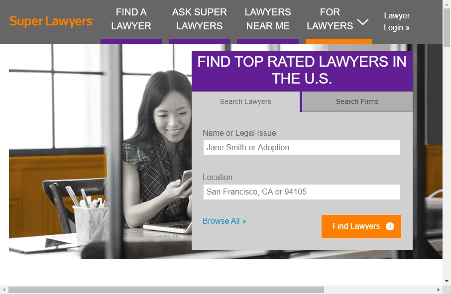 16 Great Lawyer Website Examples 29