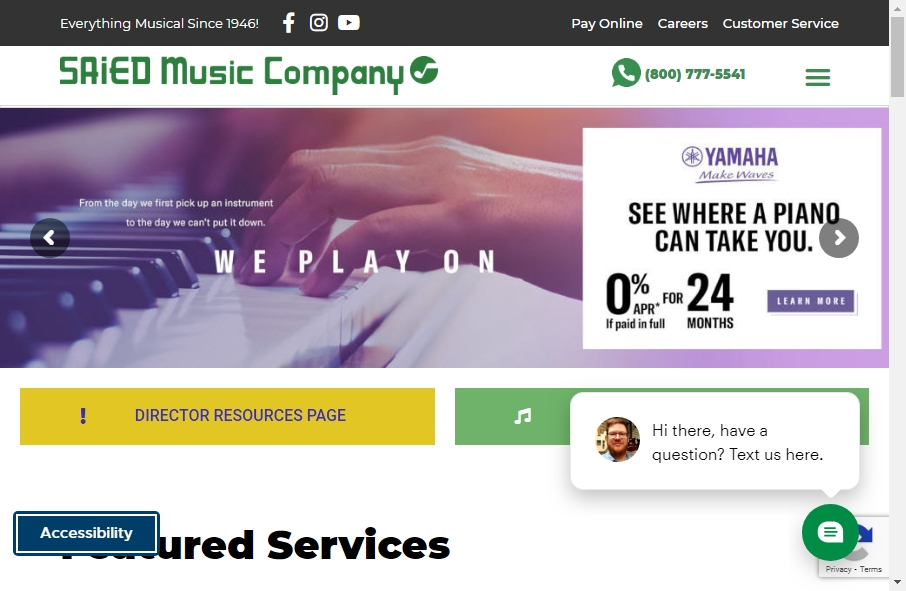 16 Great Music Website Examples 27