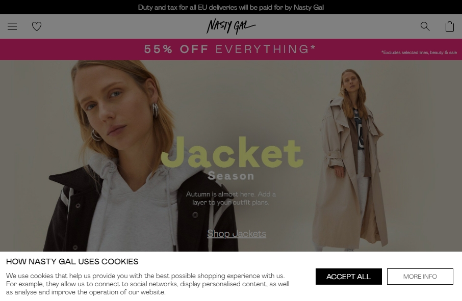 11 Fashion Website Examples to Inspire Your Site 27