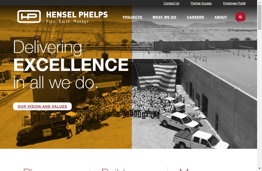 27 Examples of Construction Websites With Fantastic Designs 30