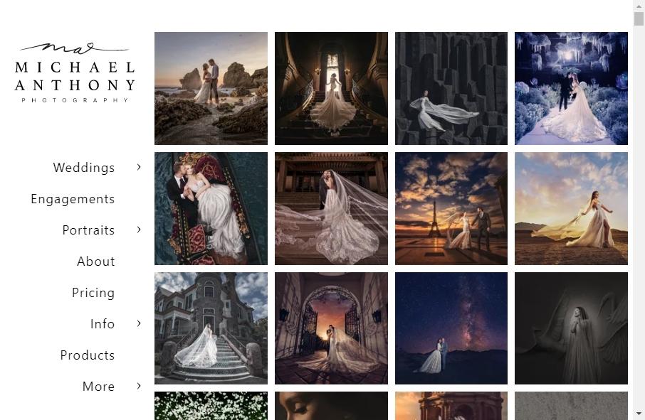 Photography Website Design 24