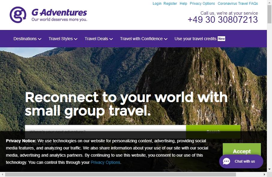 18 Best Travel Website Design Examples for 2021 28