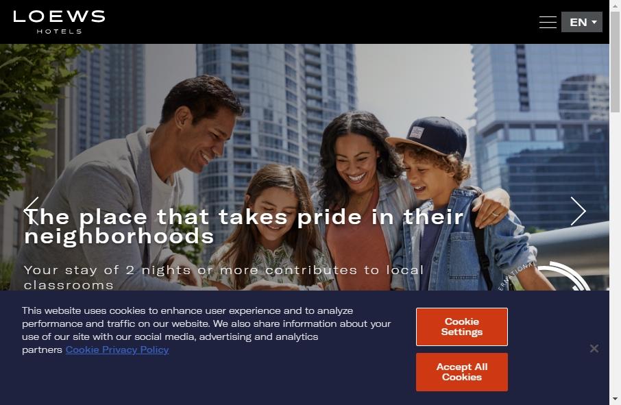 Hotels Websites Design 28
