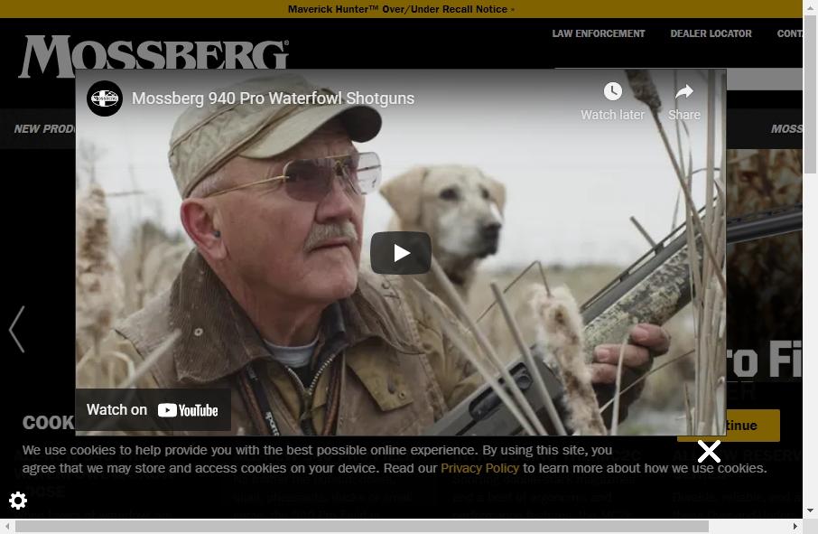 15 beautifully designed Gun website examples in 2021 30