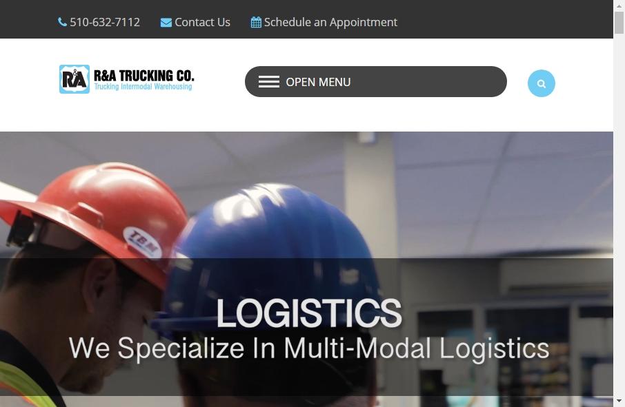 14 Amazing Trucking Website Design Examples in 2021 28