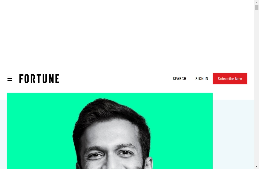 Magazine Website Design 29