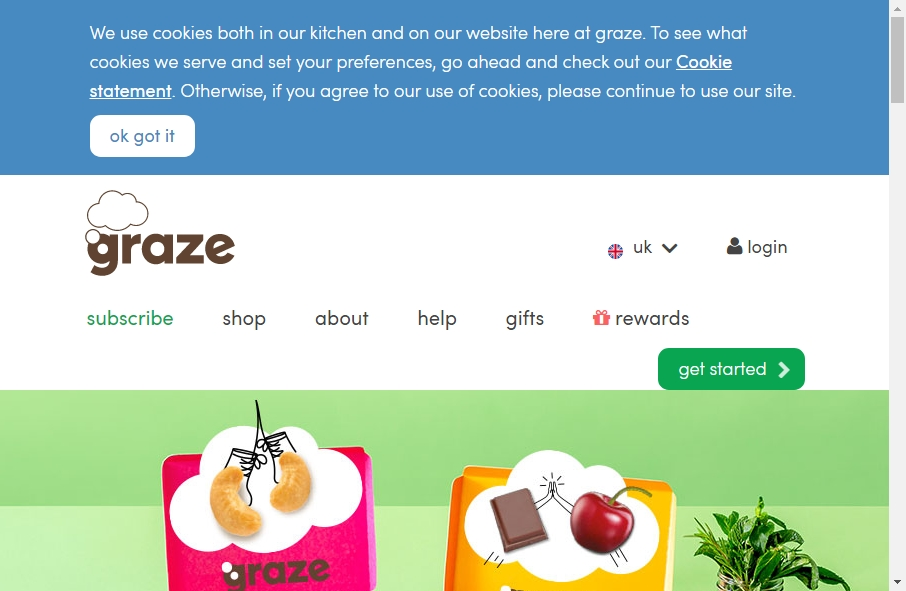 16 Examples of Food Product Websites With Fantastic Designs 29