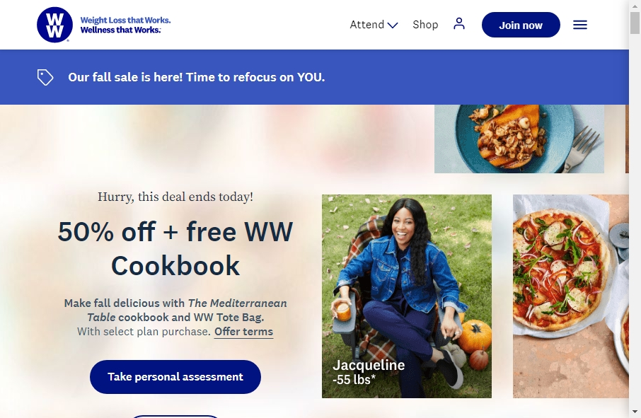 11 Great Nutritional Website Examples 27