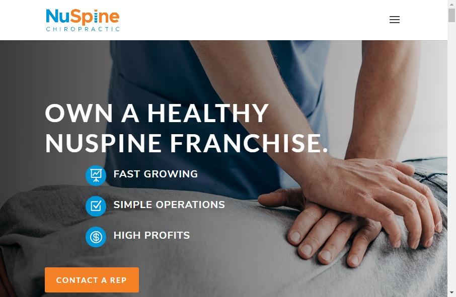 16 Great Chiropractors Website Examples 31