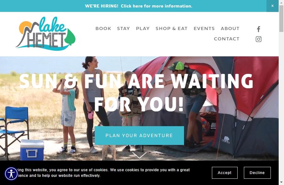 15 Amazing Recreation Website Design Examples in 2021 30