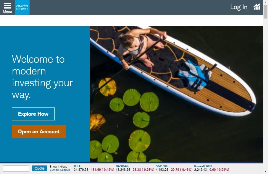12 Amazing Stock Broker Website Design Examples in 2021 28