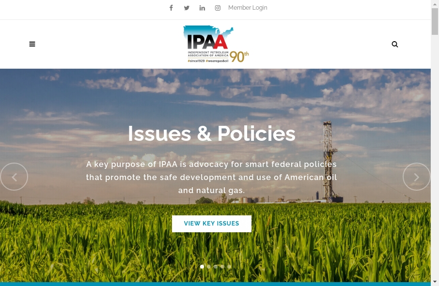 Examples of Natural Gas Websites With Fantastic Designs 27