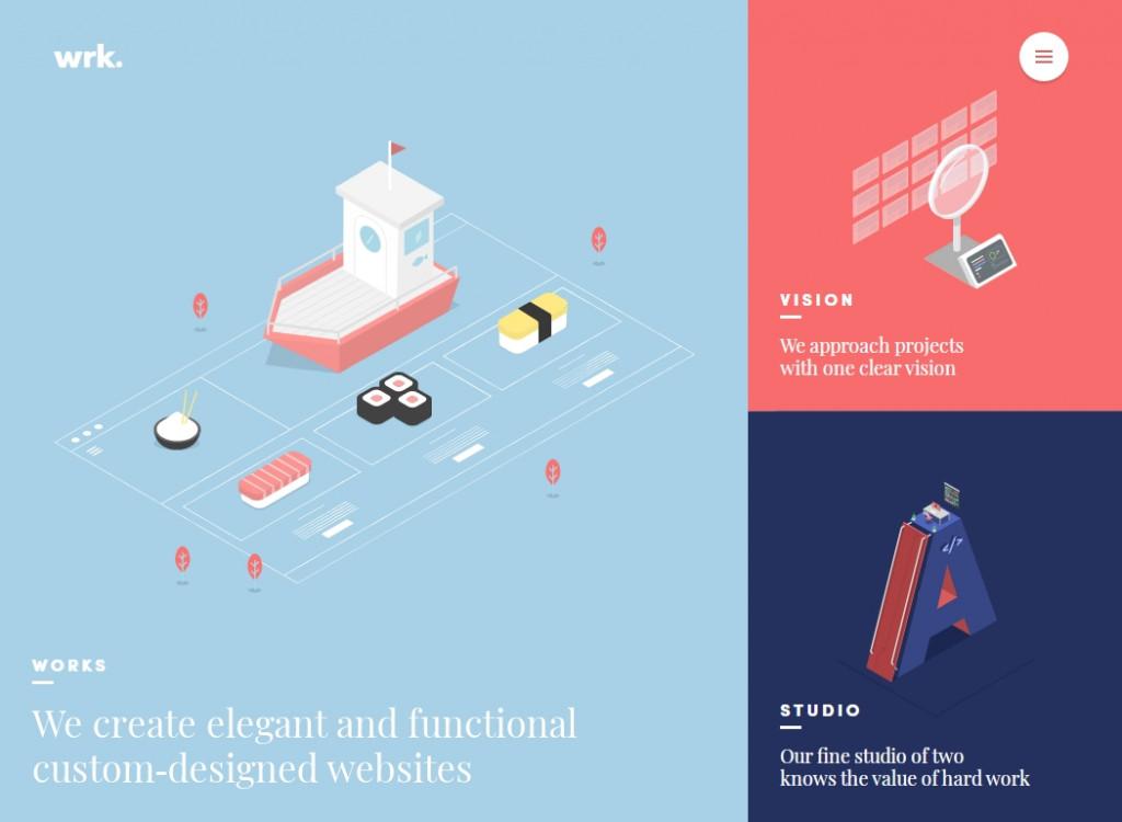 Flat Web Design Inspirations 30