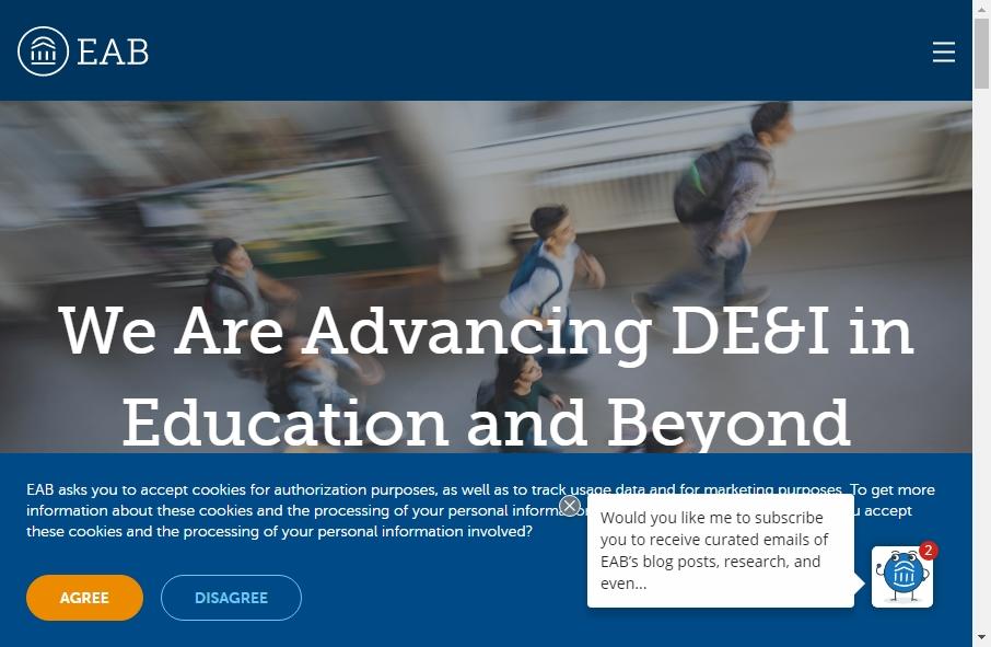 16 Amazing Educational Website Design Examples in 2021 28