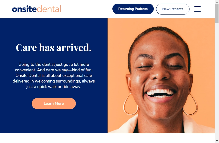 16 Dentist Website Examples to Inspire Your Site 28