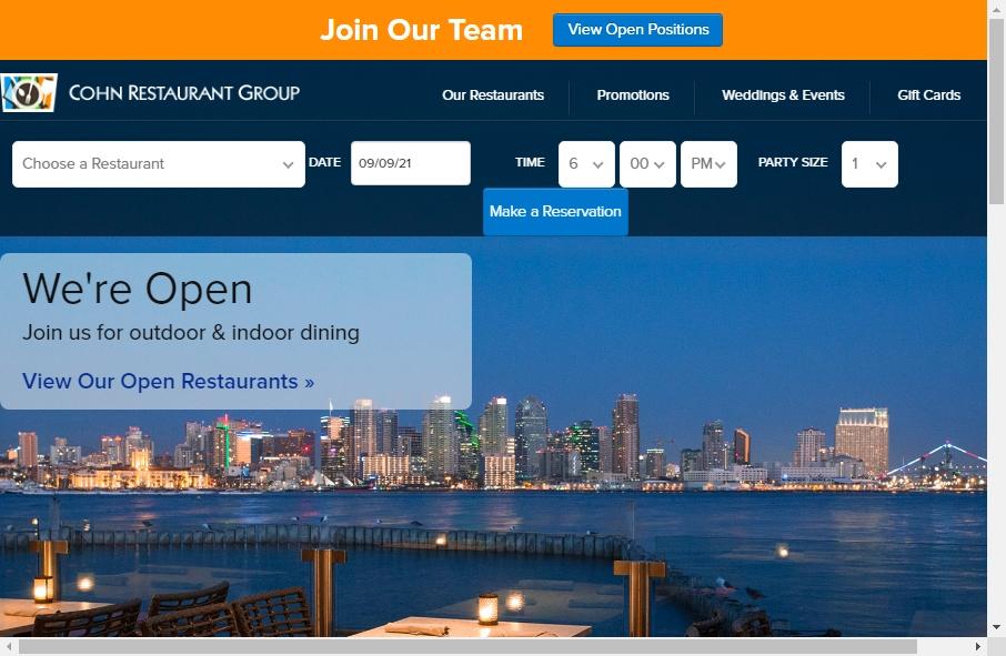 Best Restaurant Website Design Examples for 2021 27