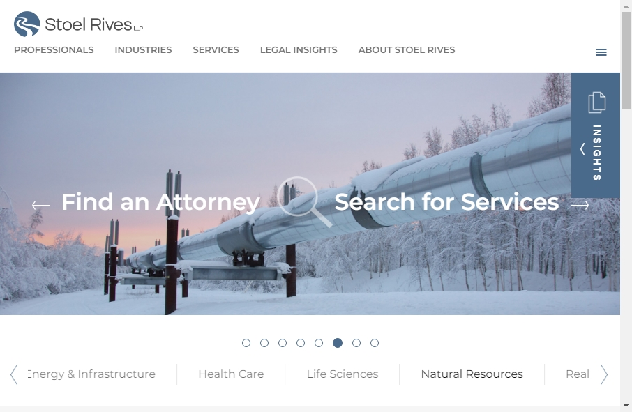25 beautifully designed Attorneys website examples in 2021 30