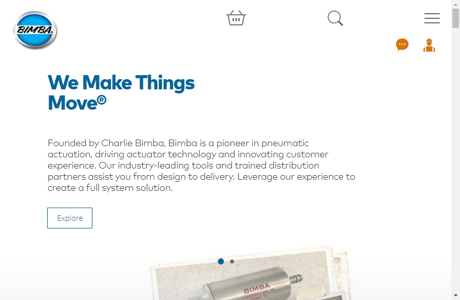 20 beautifully designed Manufacturing websites examples in 2021 31