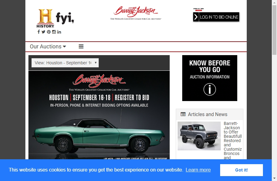 14 Great Auction Websites Examples 27