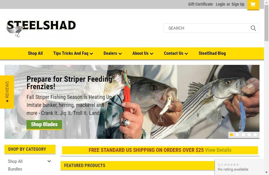 13 Best Fishing Websites Design Examples for 2021 29