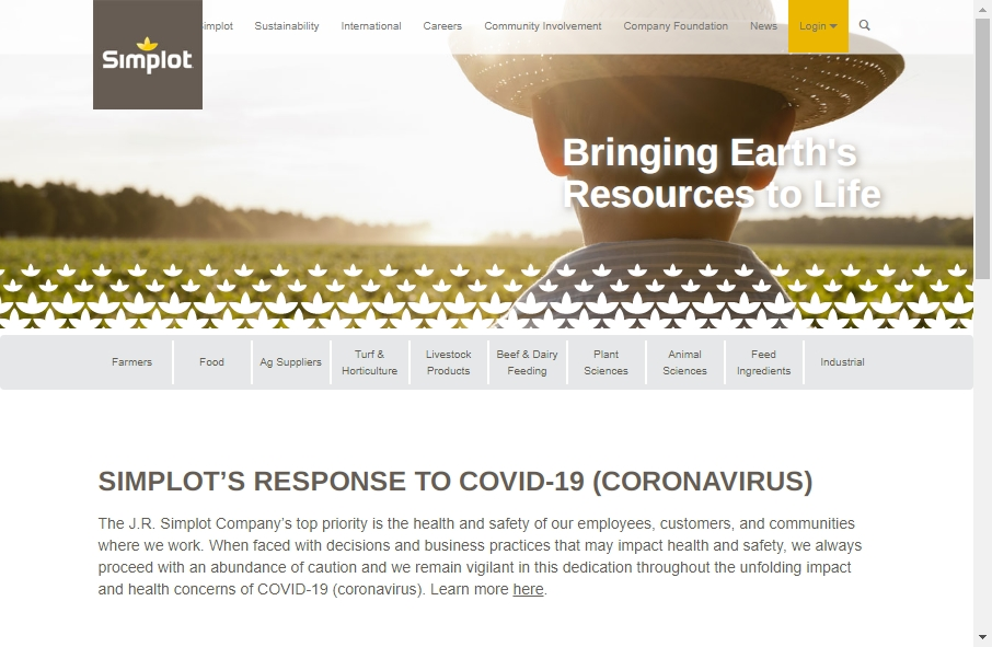 13 Agricultural Websites Examples to Inspire Your Site 29