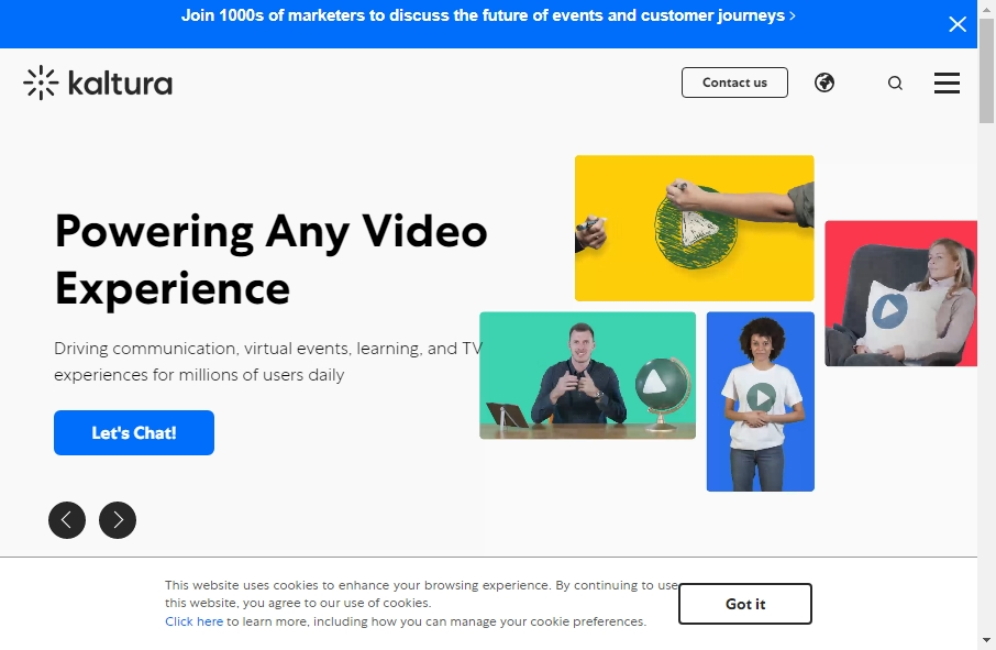 19 Amazing Video Website Design Examples in 2021 30