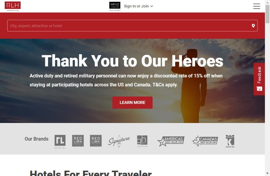16 Great Motel Website Examples 29