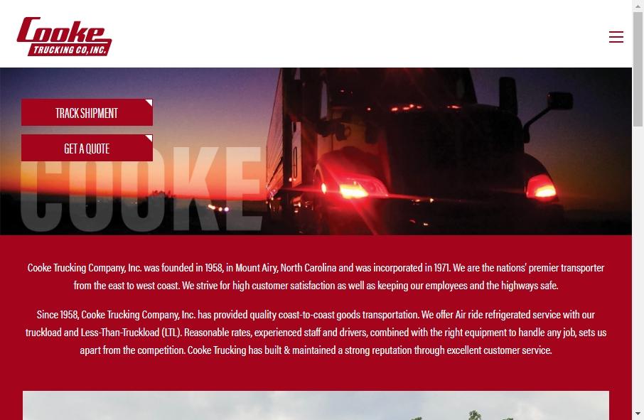 14 Amazing Trucking Website Design Examples in 2021 29