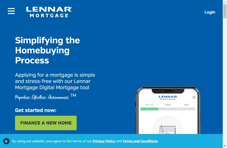 11 Examples of Inspirational Mortgage Websites 25