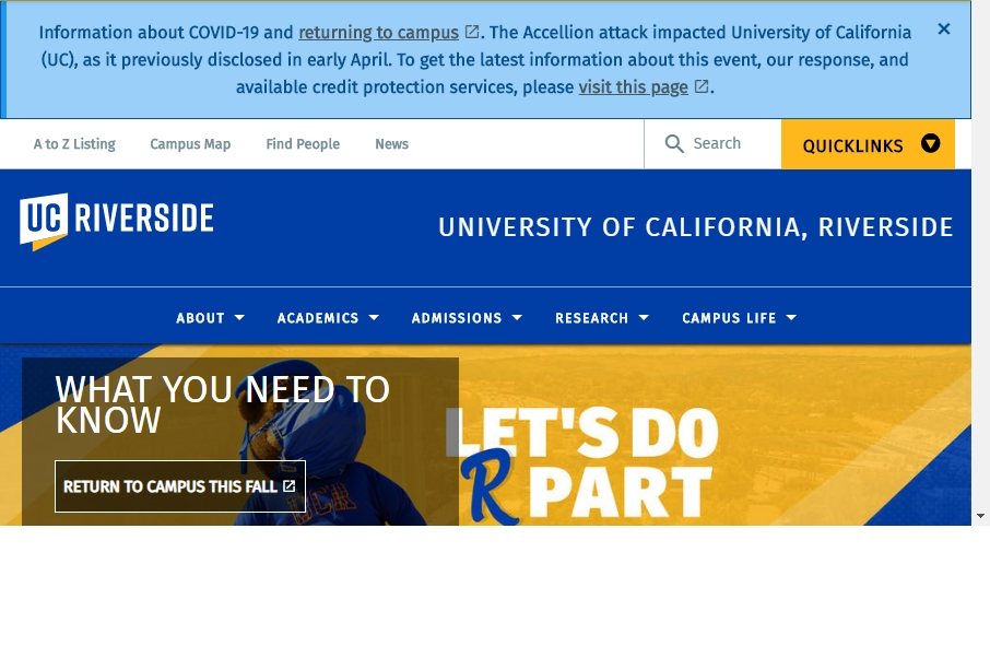 23 Examples of University Websites With Fantastic Designs 31