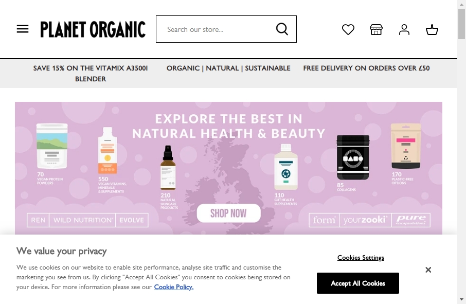 16 Examples of Food Product Websites With Fantastic Designs 30