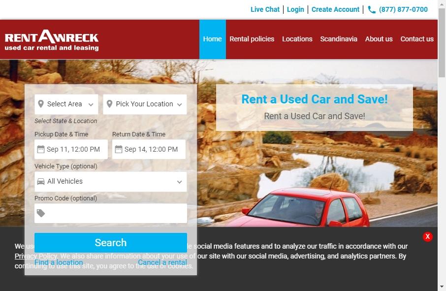 Rental Website Designs 29