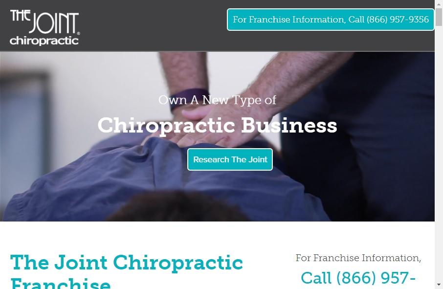 16 Great Chiropractors Website Examples 32