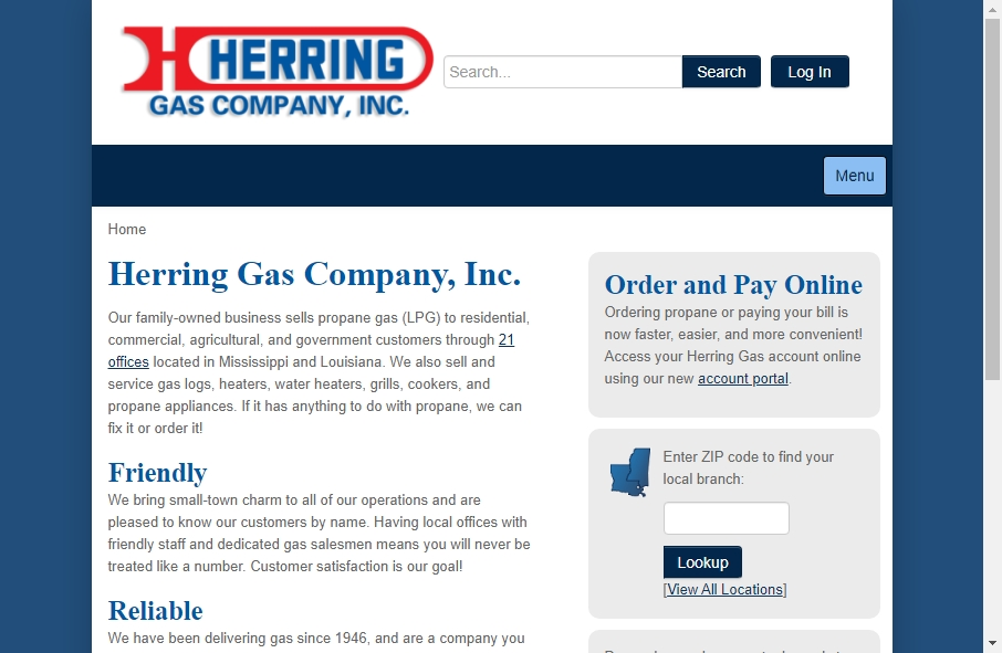 Gas Websites Examples 26
