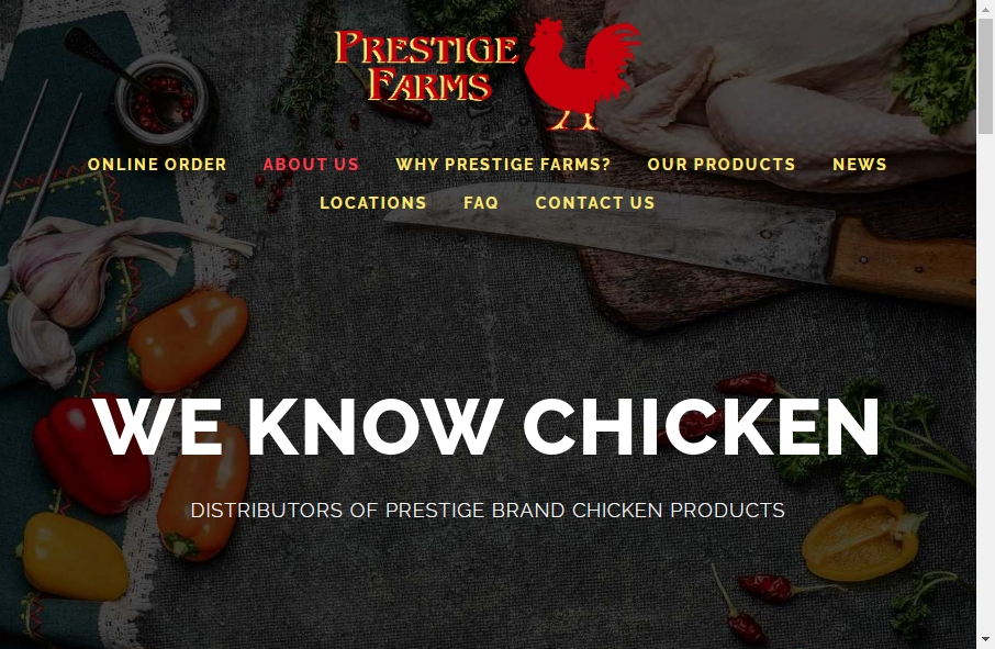 Examples of Poultry Websites With Fantastic Designs 30