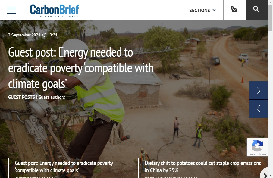 Alternative Energy Website Designs 28
