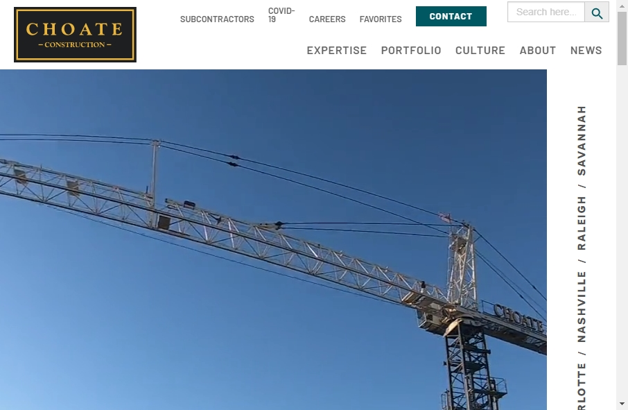 27 Examples of Construction Websites With Fantastic Designs 32