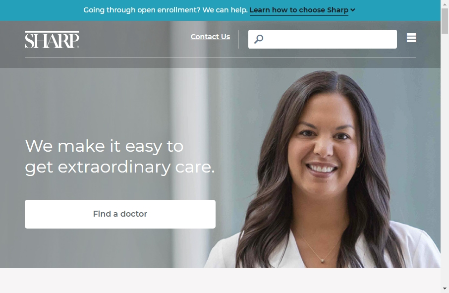 16 beautifully designed Healthcare website examples in 2021 24