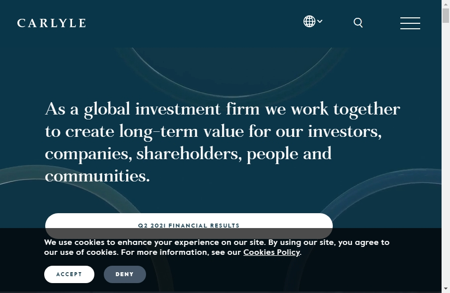 18 Private Equity Website Examples to Inspire Your Site 31
