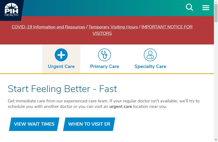 11 Examples of Hospital Websites With Fantastic Designs 25