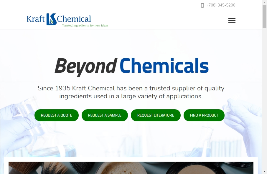 20 Examples of Chemical Websites With Fantastic Designs 28