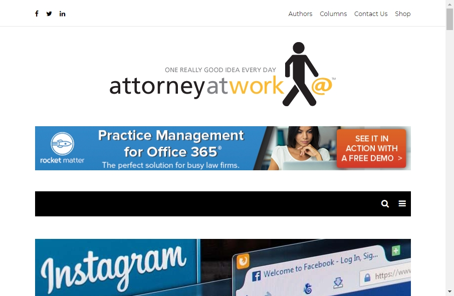 25 beautifully designed Attorneys website examples in 2021 32