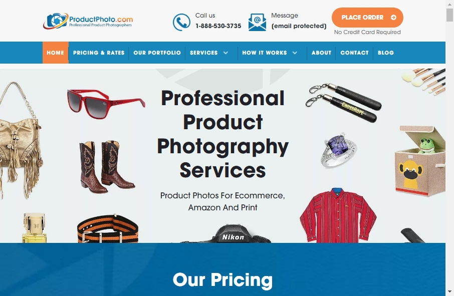 Photography Website Design 27