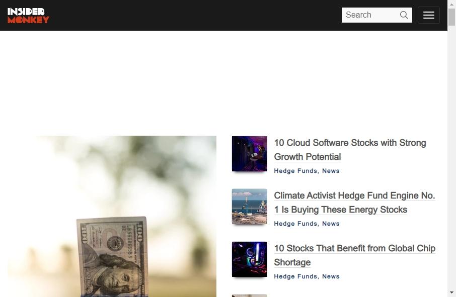 Hedge Fund Website Design 32