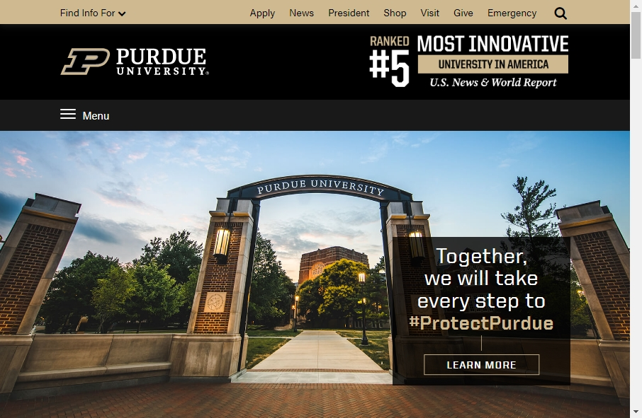 23 Examples of University Websites With Fantastic Designs 33