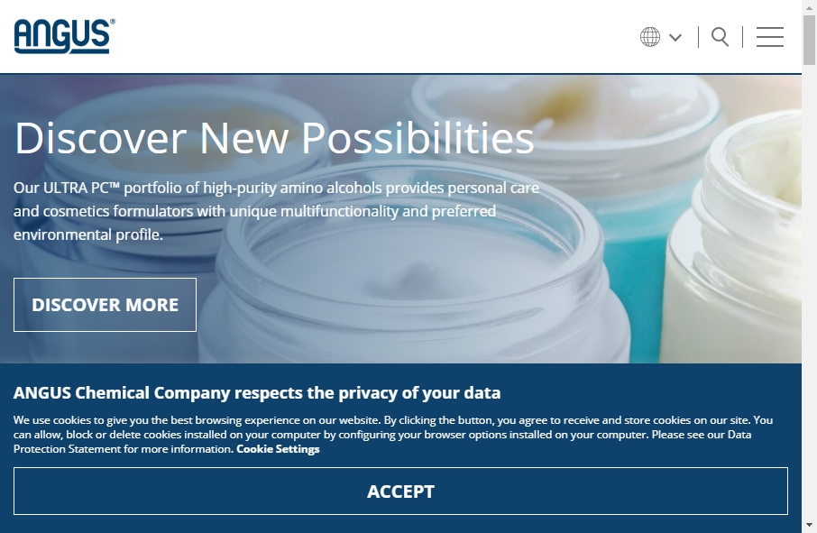 20 Examples of Chemical Websites With Fantastic Designs 29